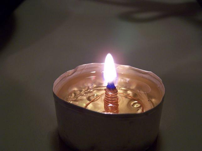 Самодельный масляный светильник
