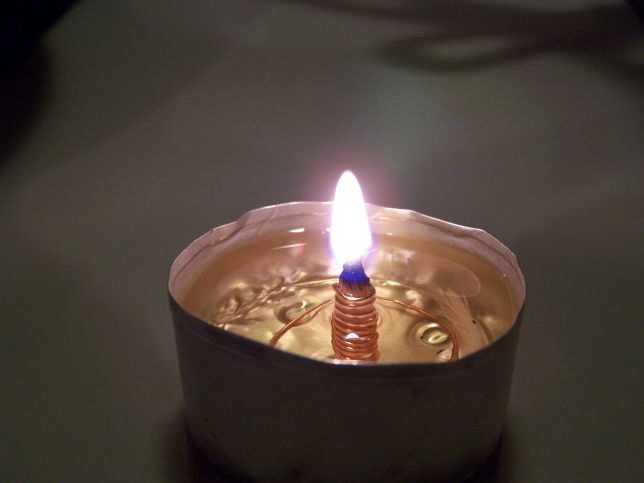 Масляные лампа своими руками