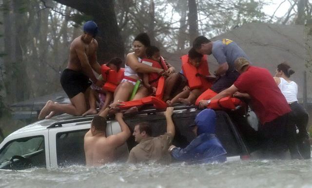 Ураган Катрина в Новом Орлеане как пример локального П