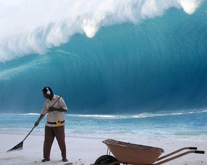 цунами выжить