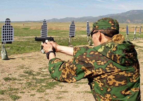 Пистолет как основа арсенала БП. Отработка навыков обращения с пистолетом