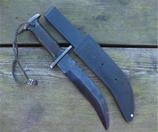 Корво – нож чилийского спецназа